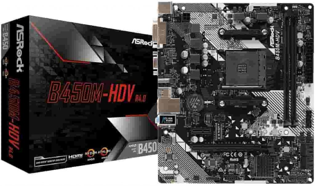 Motherboard for AMD Ryzen 5 3600