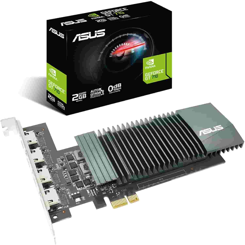 7. ASUS NVIDIA GeForce GT 710 - Budget 4k Graphics Card