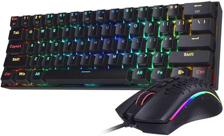 best 60% keyboard and mouse combo