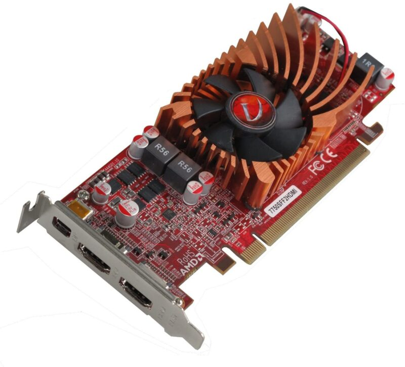VisionTek Radeon 7750 SFF 1GB DDR3 3M